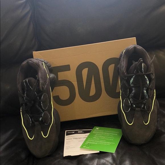 super popular df43b 97b85 Yeezy 500 utility black